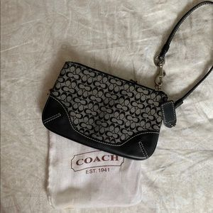 Vintage Coach Wristlet